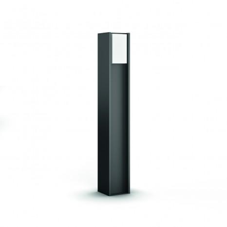 Turaco, LED, anthrazit, 806lm, H:80,2cm, warmweiß