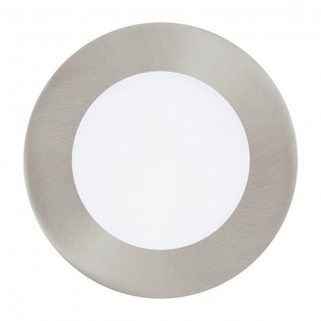 Fueva 1, LED, Ø 12 cm, nickel-matt