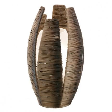 Mongu, 1-flammig, Höhe 30 cm, braun