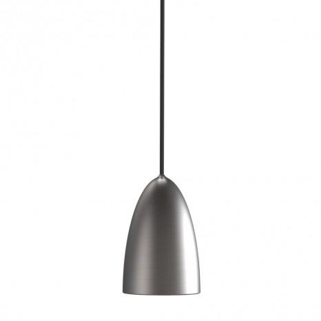 Nexus 10, LED, Ø 10 cm, Gebürsteter Stahl