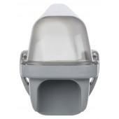 Aqua-Promo 64,9 cm grau 1-flammig quaderförmig