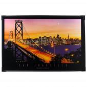 San Francisco Länge 91 cm bunt 1-flammig rechteckig