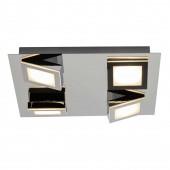 Winner 30 x 30 cm metallisch 4-flammig quadratisch