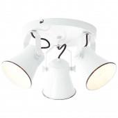 Croft Ø 43 cm weiß 3-flammig rund