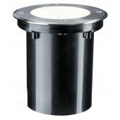 Plug & Shine Ø 14 cm silber 1-flammig rund 38° 3,3W 3000K