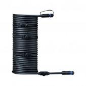 Plug & Shine Kabel, IP68, 10m, mit fünf Anschlussbuchsen