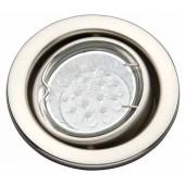 Classic LED EBL Ø 8 cm metallisch 1-flammig rund