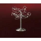 Figaro Uni 7 Höhe 40 cm metallisch 7-flammig rund