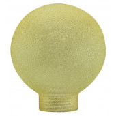 Basic Deco Glas 2 gold kugelförmig
