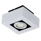 Loke 1, inkl LED Leuchtmittel, 1-flammig, schwenkbar, chrom