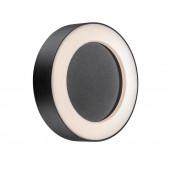 Teton Ø 20,2 cm schwarz 1-flammig rund
