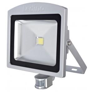 LED-Strahler mIR Dahlem 50SWI, 50W, 3000K, silber