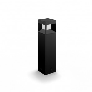 Parterre, LED, Höhe 40 cm, schwarz