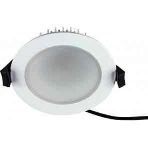 LED Einbaustrahler, IP54, dimmbar, weiß