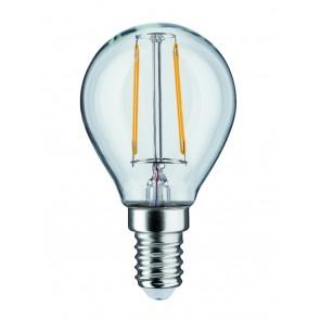 LED Tropfen 2,5W E14 230V Klar 2700K