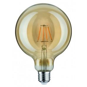 LED Globe 125 4W E27 230V Gold 1700K