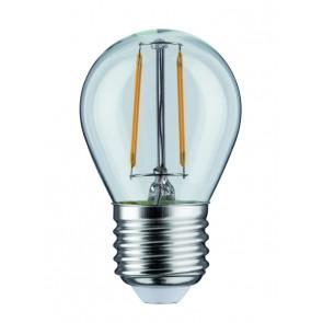 LED Tropfen 2,5W E27 230V Klar 2700K