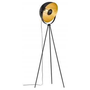 Mona Ø 60 cm schwarz 1-flammig rund