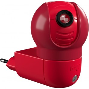 LED-Steckdosenlicht 1 Nachtwächtermaus Motiv, 1W, Sensor, drehbar