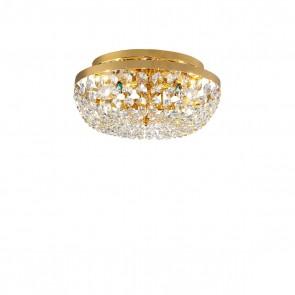 Schönbrunn DL, 24 Karat Gold, Kristall, E14, 3161.13/33