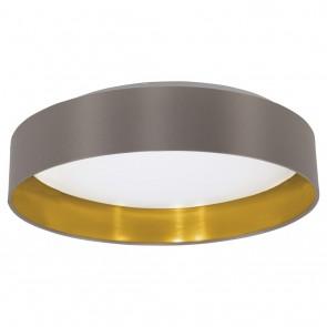 Maserlo, LED, Ø 40,5 cm, cappuccino-gold