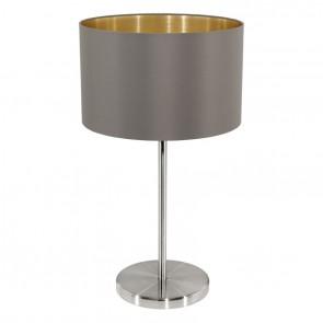 Maserlo, TL Ø 23 cm, H 42 cm, cappuccino-gold