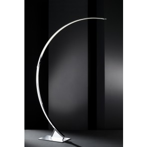 Luz, Höhe 185 cm, 3-Stufen-Dimmer, inkl LED, Chrom