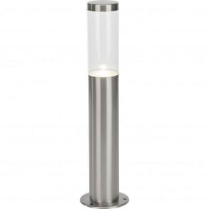Bergen Höhe 40 cm metallisch 1-flammig zylinderförmig