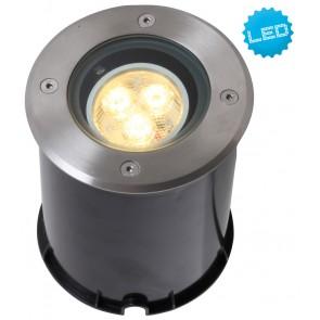 LED Bodeneinbauleuchte, Aluminium