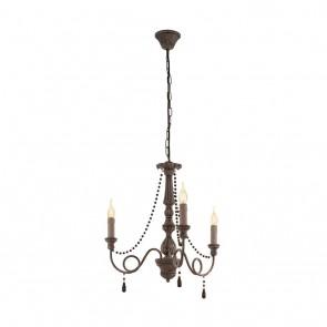 Colchester, 3-flammig, Höhe 110 cm, taupe-antik
