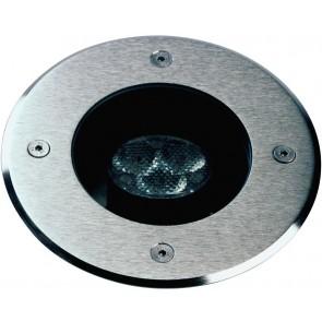 Erdeinbaustrahler, LED, IP67, metallisch