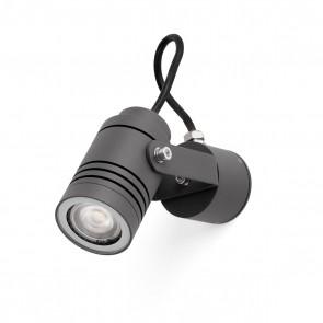 Lit Projector Dark Grey Gu10