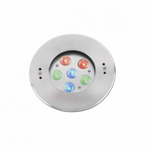 Edel Recessed LED 6 X 2W Rgb