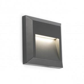 Grant-C 12,5 x 12,5 cm anthrazit 1-flammig quadratisch