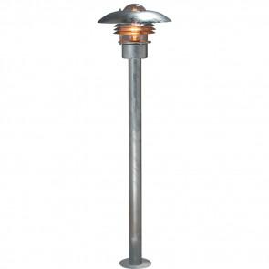 Modena Wegeleuchte, Höhe 110cm, galvanisierter Stahl