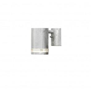 Modena, GU10, IP44, dimmbar, Höhe 13,5cm, metallisch