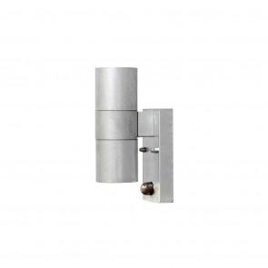 Modena Höhe 20 cm metallisch 2-flammig zylinderförmig