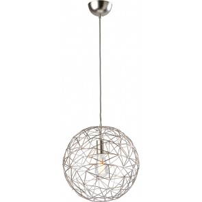 Cage, Ø 60 cm, Metall/ Satin