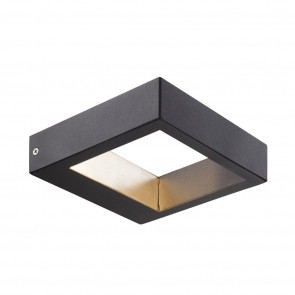 Avon 15 x 15 cm schwarz 2-flammig quadratisch