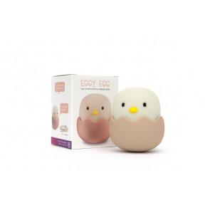 Eggy Egg Höhe 12 cm bunt 1-flammig oval