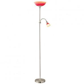 Up 4, E27, IP20, Höhe 178 cm, rot-orange