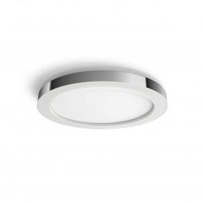 White Amb. Adore Ø 40,7 cm chrom 1-flammig rund