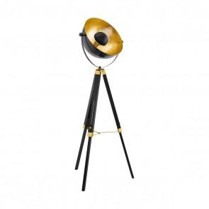 Covaleda, Höhe 164 cm, schwenkbar, schwarz-gold