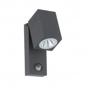 Sakeda, LED, anthrazit, mit Bewegungsmelder