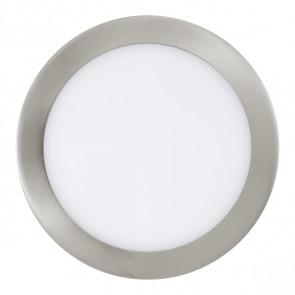 Fueva, LED, Ø 22,5 cm, Smart Home, nickel-matt