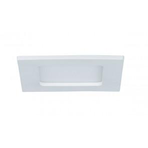 Einbaupanel, LED, IP44, eckig, weiß