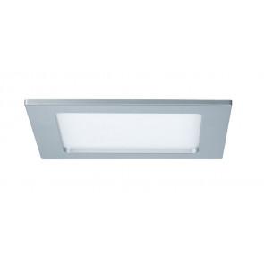 Einbaupanel, LED, IP44, 12W, eckig, chrom