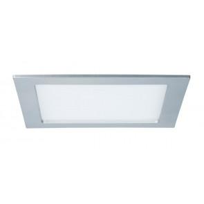 Einbaupanel, LED, IP44, 18W, eckig, chrom