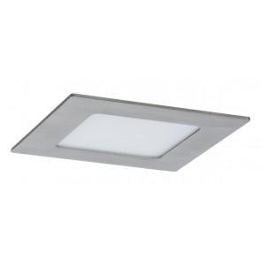 Premium EBL Set Panel eckig LED 1x6,5W 2700K 7VA 230V/350mA 120mm Eisen geb