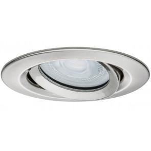 Nova schwenkbar Ø 9,3 cm metallisch 1-flammig rund